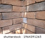 the walls are made of brown red ...   Shutterstock . vector #1964391265