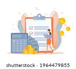budget management. personal... | Shutterstock .eps vector #1964479855