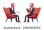 businessman  red haired office... | Shutterstock .eps vector #1964502052