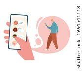 concept of sharing news  refer...   Shutterstock .eps vector #1964541118
