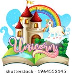 3d pop up book with fairy tale... | Shutterstock .eps vector #1964553145