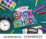 back to school vector... | Shutterstock .eps vector #1964589625