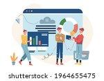 virtual business assistant ...   Shutterstock .eps vector #1964655475