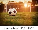 Soccer Sunset   Football In The ...