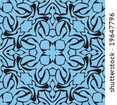 abstract seamless repeat pattern | Shutterstock .eps vector #19647796