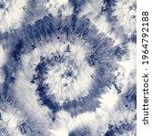 vector tie dye swirl. blue... | Shutterstock .eps vector #1964792188