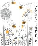 world bee day design of...   Shutterstock .eps vector #1964870572