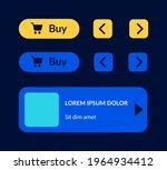 shopping ui elements kit. add...