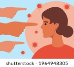 infection with covid. flat...   Shutterstock .eps vector #1964948305