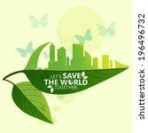 green concept | Shutterstock .eps vector #196496732