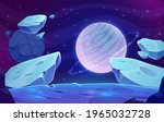 planets and asteroids in outer... | Shutterstock .eps vector #1965032728