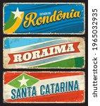 brazil signs  santa catarina ... | Shutterstock .eps vector #1965032935
