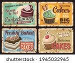 Pastry Shop Cakes Menu Rusty...