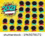 photo frame for class of 2021... | Shutterstock .eps vector #1965078172