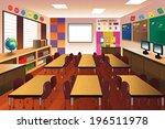 a vector illustration of empty... | Shutterstock .eps vector #196511978