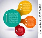 modern design layout.... | Shutterstock .eps vector #196526132