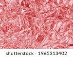 Shiny Rose Gold Foil Texture...