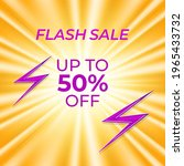 flash sale poster template for... | Shutterstock .eps vector #1965433732