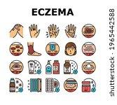 eczema disease treat collection ... | Shutterstock .eps vector #1965442588