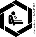 risk of suffocation concept ... | Shutterstock .eps vector #1965449182