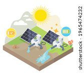 solar cell performance compare... | Shutterstock .eps vector #1965474232