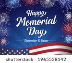 happy memorial day  remember... | Shutterstock .eps vector #1965528142