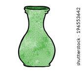 cartoon vase | Shutterstock .eps vector #196553642