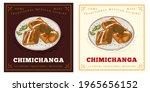 Chimichanga Illustration  A...