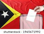 Timor Leste Flag  Timor Leste ...