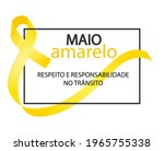 yellow may. respect and... | Shutterstock .eps vector #1965755338