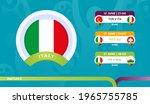 italy national team schedule...   Shutterstock .eps vector #1965755785