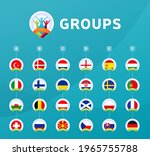 football euro 2020 tournament... | Shutterstock .eps vector #1965755788