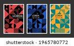 one set of geometric... | Shutterstock .eps vector #1965780772