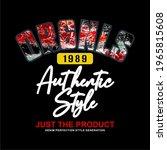 originals 1989 authentic style  ... | Shutterstock .eps vector #1965815608