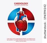 medical design over white... | Shutterstock .eps vector #196594142