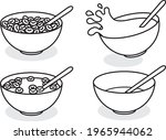a set of cereal bowl...   Shutterstock .eps vector #1965944062