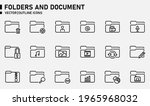 folders and document icons for...   Shutterstock .eps vector #1965968032