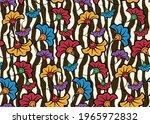 seamless african wax print... | Shutterstock .eps vector #1965972832