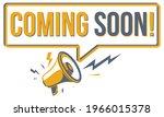 coming soon   advertising sign... | Shutterstock .eps vector #1966015378
