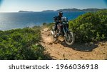 Motorcyclist Rides The...