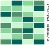 abstract green mosaic tile... | Shutterstock .eps vector #1966044175