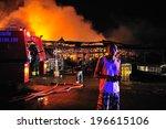 phuket  thailand oct 16  fire... | Shutterstock . vector #196615106