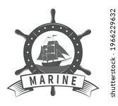 theme marin  style vintage... | Shutterstock .eps vector #1966229632