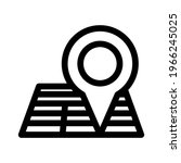 location icon or logo isolated...