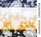 seamless flower  pattern on... | Shutterstock .eps vector #1966348708