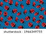 fashion animal seamless pattern ... | Shutterstock .eps vector #1966349755