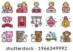 mother day related vector icon...   Shutterstock .eps vector #1966349992
