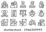 mother day related vector icon...   Shutterstock .eps vector #1966349995