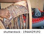 the man who is a furniture...   Shutterstock . vector #1966429192
