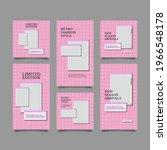 pastel retro fashion sale... | Shutterstock .eps vector #1966548178